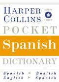 Harpercollins Pocket Spanish Dictionary Spanish/English, English/Spanish