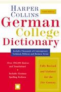Harpercollins German College Dictionary