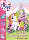 My Little Pony Color & Sticker Book