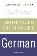Harpercollins Beginner's German Dictionary