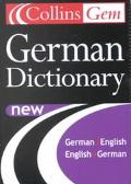 Collins Gem German Dictionary German-English English-German