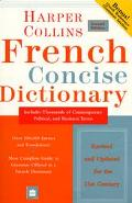 Harpercollins French Concise Dictionary Plus Grammar