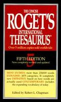 The Concise Roget's International Thesaurus