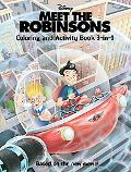 Meet the Robinsons Coloring And Activity Book 3-in-1