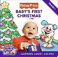 Baby's First Christmas: Learning about Colors