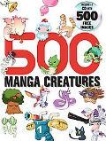 500 Manga Creatures