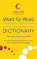 Word-for-Word: English-Spanish Spanish-English Dictionary