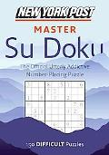 New York Post Master Su Doku: Difficult