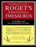 Roget's Internatl.thesaurus-indexed