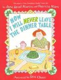Now I Will Never Leave the Dinner Table - Jane Read Martin - Paperback