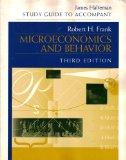 Microeconomics and Behavior - Frank - Paperback - Older Edition