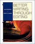 Better Writing Through Editing