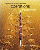 Operations Management: Contemporary Concepts and Cases