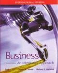 Business: An Integrative Framework (McGraw-Hill International Editions)
