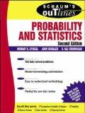 Schaum's Outline Probability Stats (McGraw-Hill International Editions Series)