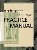 Architect's Professional Practice Manual
