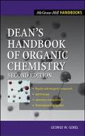 Dean's Handbook of Organic Chemistry