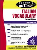 Schaum's Outline of Italian Vocabulary