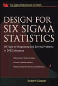 Design for Six Sigma Statistics 59 Tools for Diagnosing And Solving Problems in Dffs Initiat...