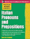 Italian Pronouns & Prepositions