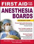 First Aid for the Anesthesia Boards