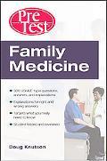 Family Medicine Pretest