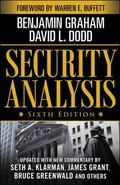 Security Analysis Sixth Edition, Foreword by Warren E. Buffett