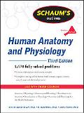 Schaum's Outline of Human Anatomy and Physiology, Third Edition (Schaum's Outline Series)