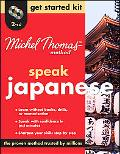 Michel Thomas Method Japanese Get Started Kit, 2-CD Program