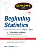 Schaum's Outline of Beginning Statistics, Second Edition