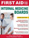 First Aid for the Internal Medicine Boards, 3rd Edition (First Aid Series)
