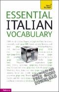 Essential Italian Vocabulary: A Teach Yourself Guide