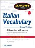 Schaum's Outline of Italian Vocabulary