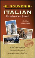 souvenir Italian Phrasebook and Journal