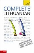 Complete Lithuanian: A Teach Yourself Guide (Teach Yourself Language)