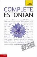 Complete Estonian: A Teach Yourself Guide (Teach Yourself Language)