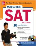 McGraw-Hill's SAT with CD-ROM, 2013 Edition