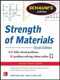 Schaums Outline of Strength of Materials, 6th Edition (Schaum's Outlines)