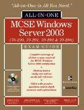McSe Windows Server 2003 All-In-One Exam Guide Exams 70-290, 70-291, 70-293 and 70-294