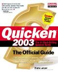 Quicken(R) 2003: The Official Guide