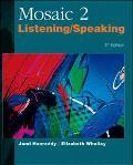 Mosaic 2 Listening / Speaking