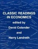 Economics: Classic Readings