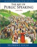 Art of Public Speaking: Annotated