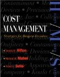 Cost Management: Strategies for Business Decisions (Book and Study Guide)