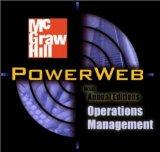 Operations Management: Contemporary Concepts and Cases with CD-ROM & PowerWeb
