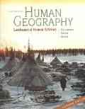 Human Geography Landscapes of Human Activities