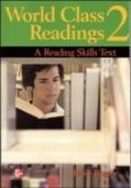 World Class Readings A Reading Skills Series Text- Book 2 Sb