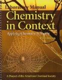 Laboratory Manual to accompany Chemistry In Context: Applying Chemistry To Society