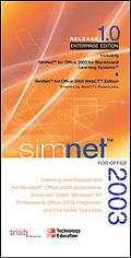 SimNet for Office 2003 - Staff of Triad Interactive - Hardcover - Learning Assessment for Of...