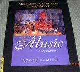 Multimedia Companion CD-ROM 5.0 t/a Music: An Appreciation, Brief Edition